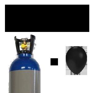 lachgasfles met gratis lachgas ballon