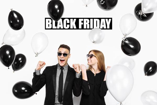 Met gratis Black Friday ballon cadeau